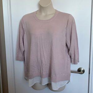 CALVIN KLEIN   XXL   Pale Pink Fooler Sweater